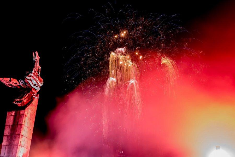 Zobaczcie jak Chrzanów witał nowy rok (ZDJĘCIA)