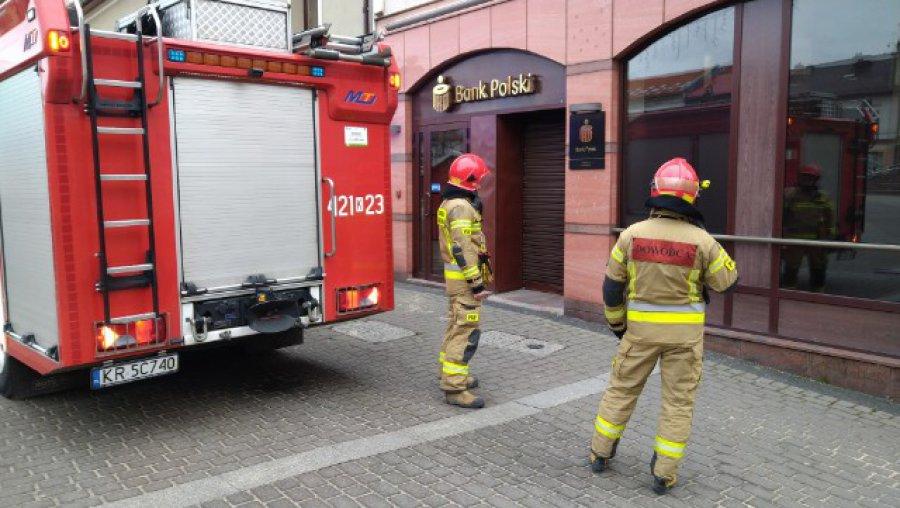 Fałszywy alarm postawił na nogi strażaków