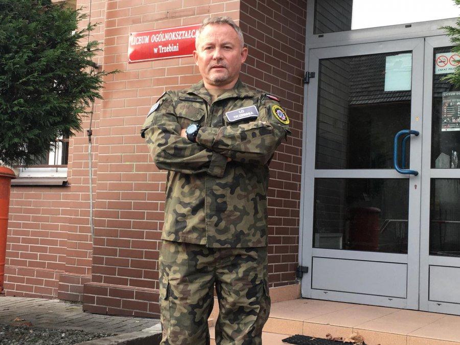 Marek Kuchta: Mundur to honor i wyróżnienie