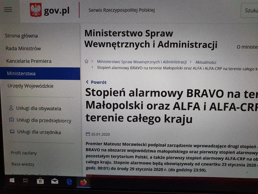 Od jutra w Małopolsce obowiązuje alarm antyterrorystyczny. Co to oznacza?