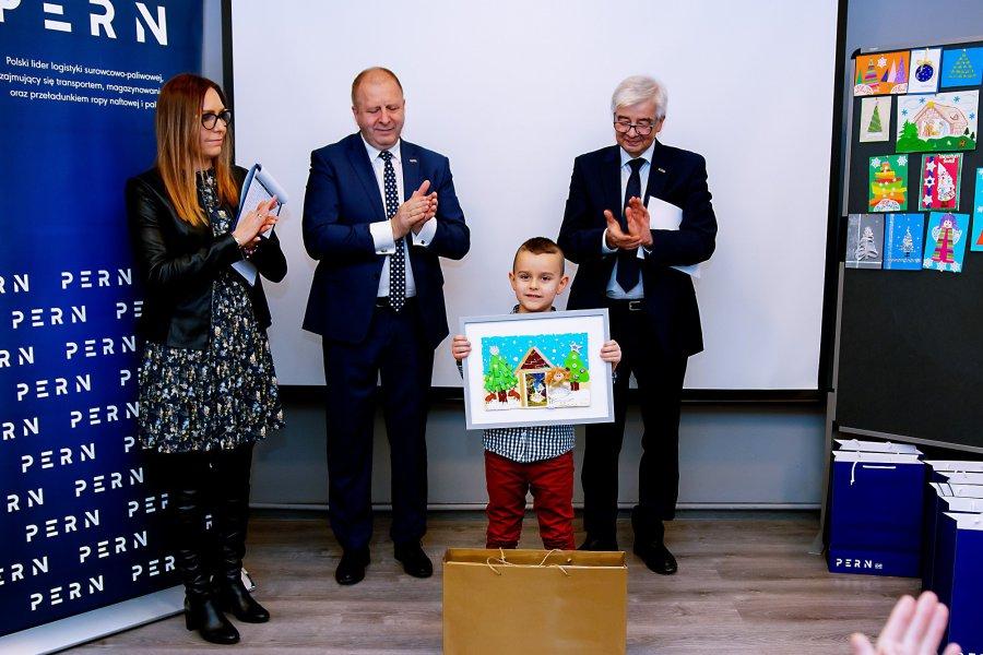 Szymon Liszka zrobił najładniejszą kartkę i wygrał laptopa