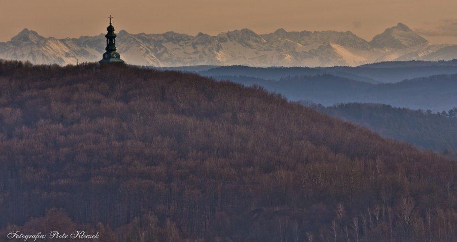 Tatry widziane od strony Regulic