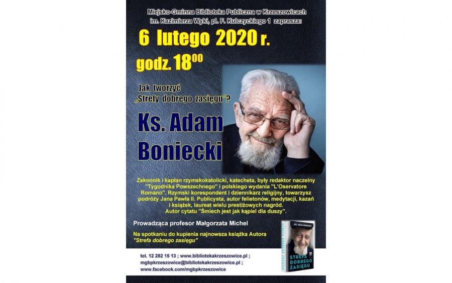 Przyjedzie ks. Adam Boniecki
