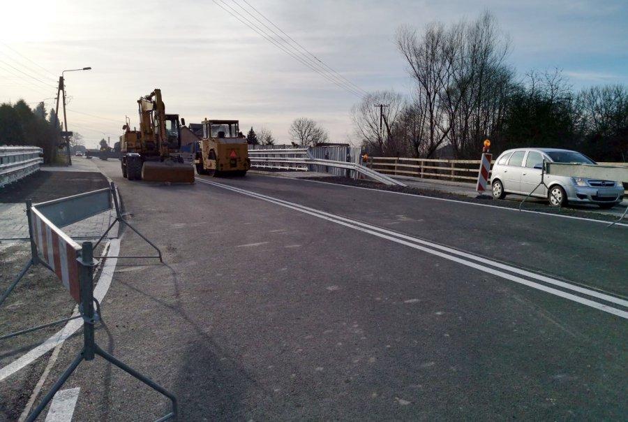 Kiedy zostanie otwarty nowy most na szosie wojewódzkiej?