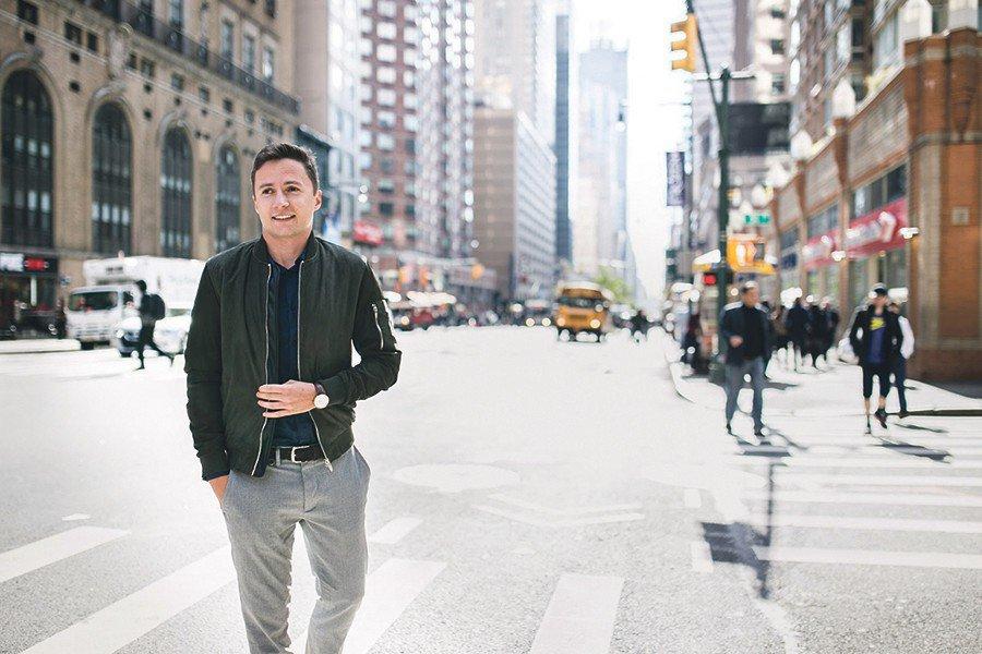 Współczesny cyfrowy nomada. Wojciech Zając z Trzebini pracował dla Twittera i telewizji FOX