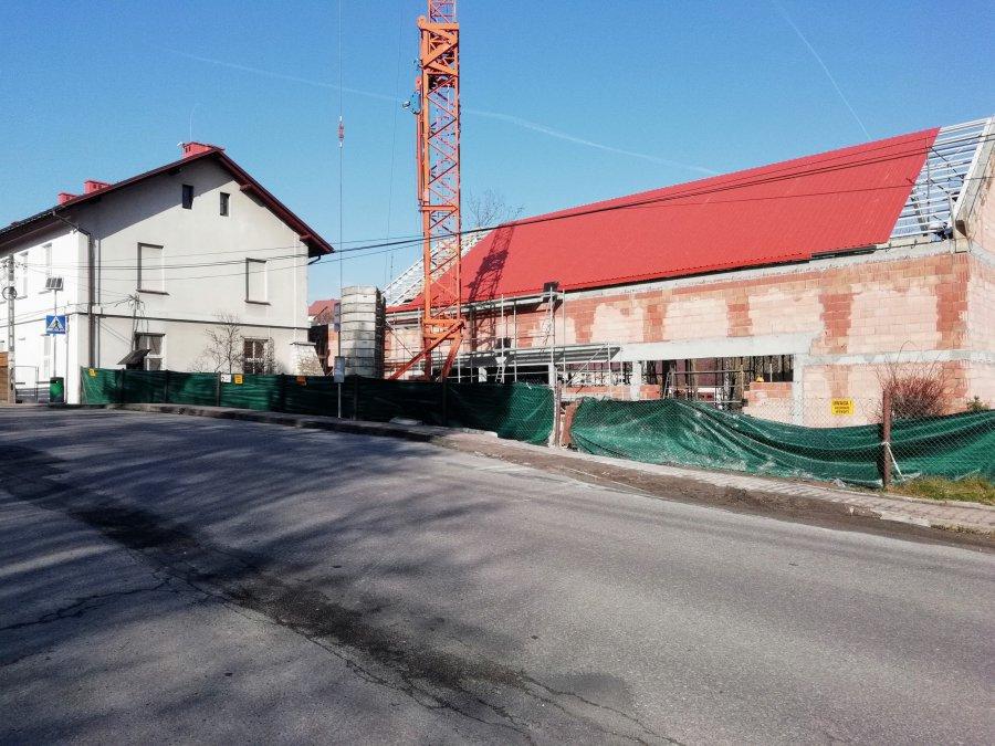 Nowa sala gimnastyczna nabiera kształtów