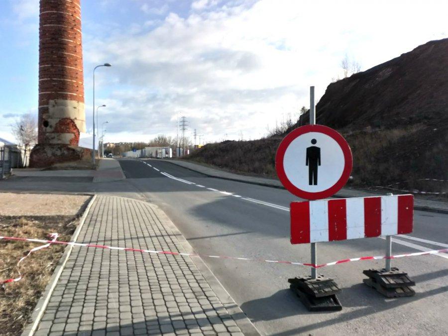 Droga jest czasowo zamknięta