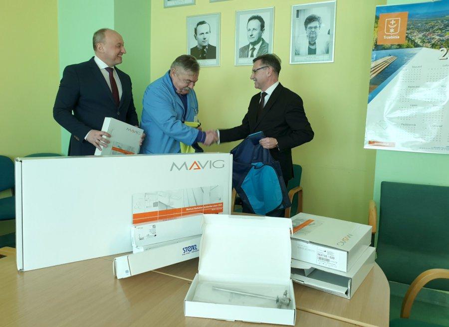 Sprzęt za pieniądze z Libiąża już jest w szpitalu