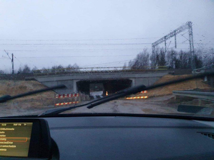 Wiadukt znów będzie zamknięty na granicy Chrzanowa i Trzebini