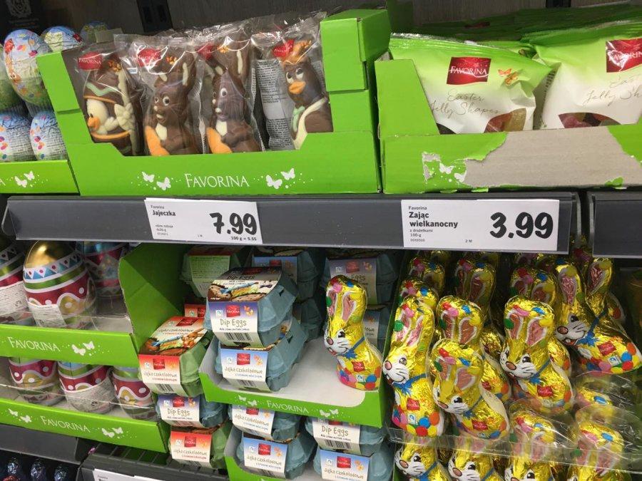 Na sklepowych półkach już Wielkanoc. Czekoladowe zające kuszą klientów