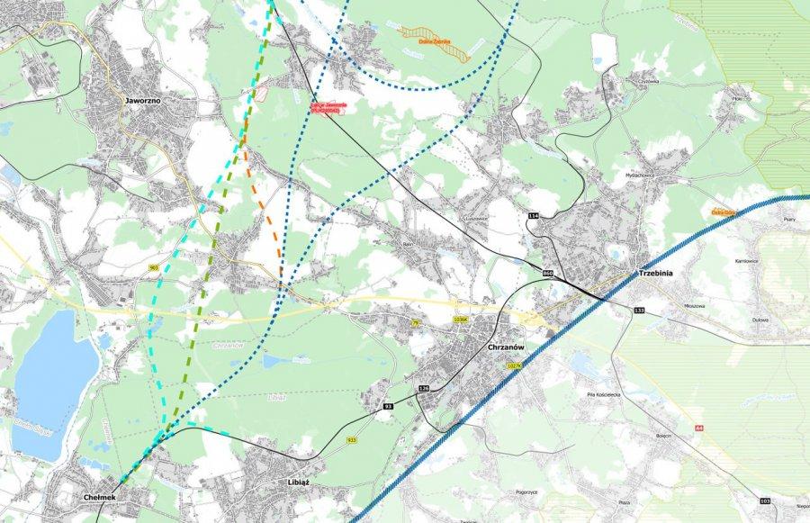 Ponad 30 tysięcy wniosków w sprawie budowy linii kolejowej do CPK. Są też uwagi z Trzebini