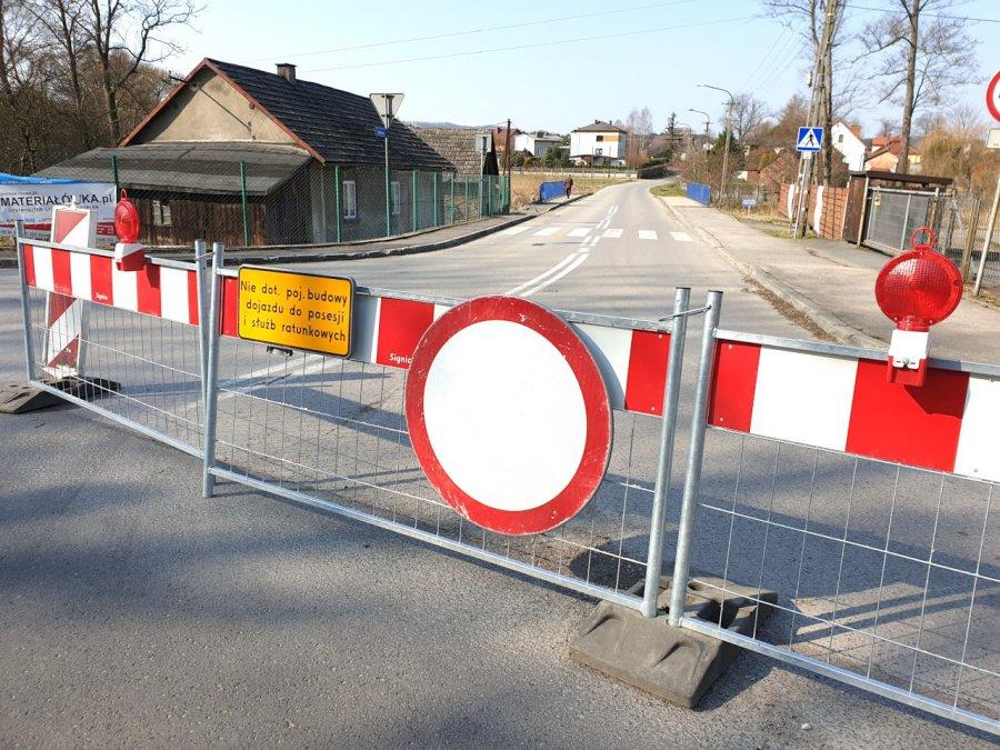 Droga będzie zamknięta do jesieni