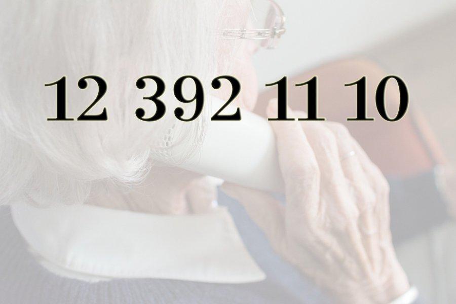 Specjalny numer telefonu dla seniorów