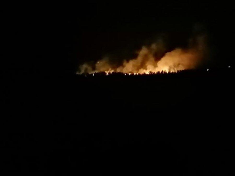Pożar wybuchł po awarii transformatora