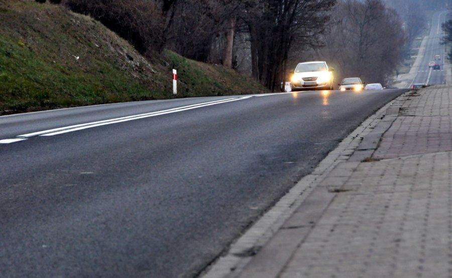 Uwaga  na drogach - w nocy i rano możliwa gołoledź!