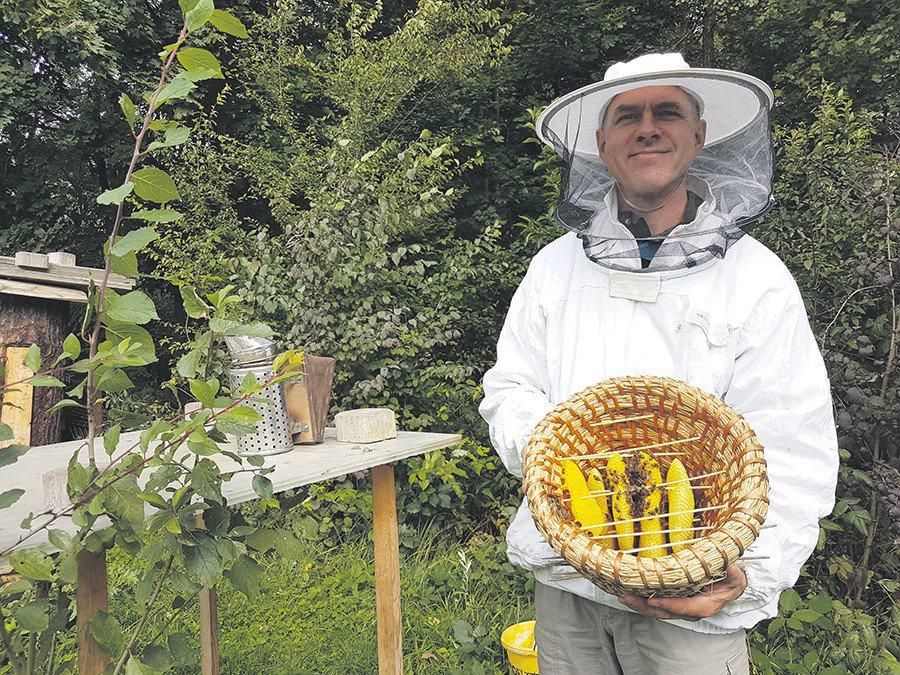 Jestem pszczelarzem i dobrze mi z tym