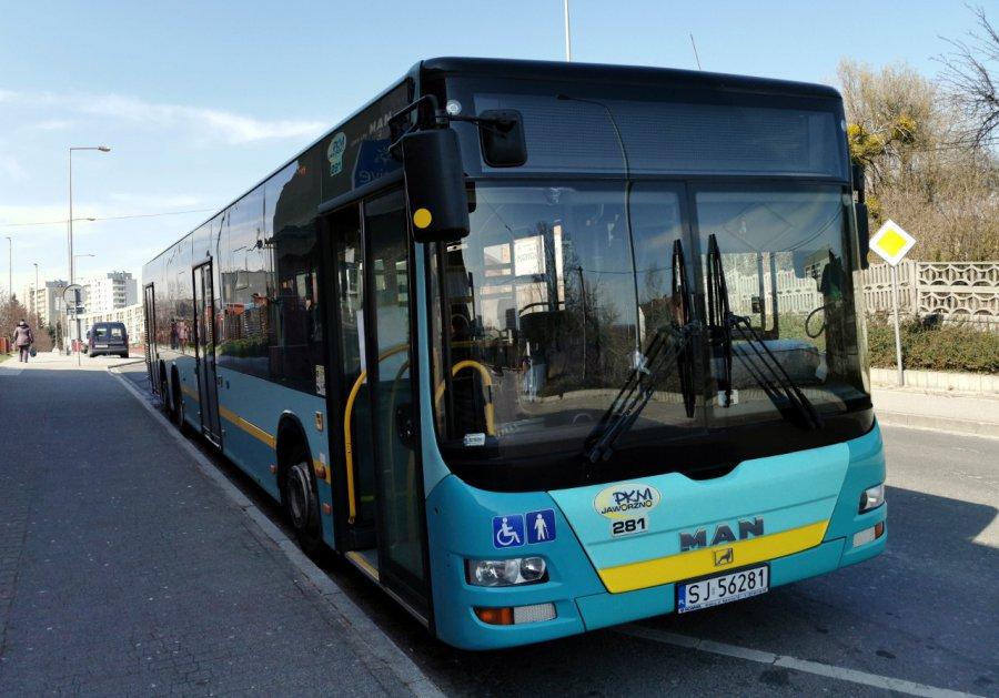 PKM Jaworzno skrócił trasy części kursów autobusów