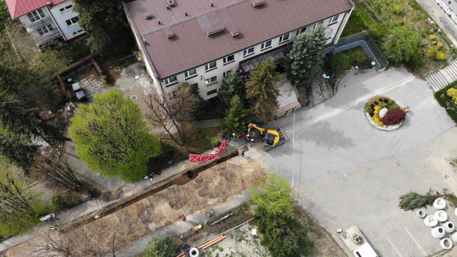 Wypadek na budowie. Nie żyje mężczyzna