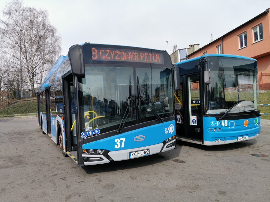 W majowy weekend będą specjalne kursy autobusów miejskich