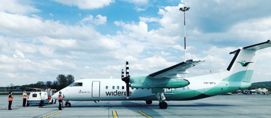 Tylko 52 pasażerów odleciało w kwietniu z Balic