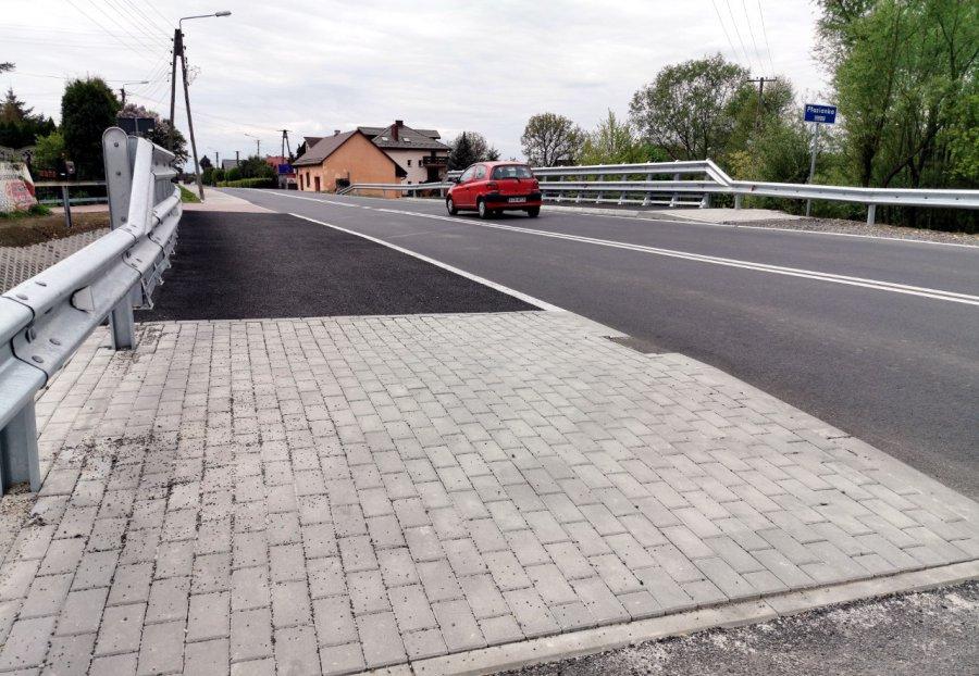 Tak wygląda nowy most na granicy gmin Babice i Chrzanów (WIDEO)