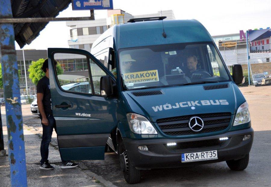 Przewoźnik wznawia sobotnie kursy minibusów relacji Chrzanów-Kraków