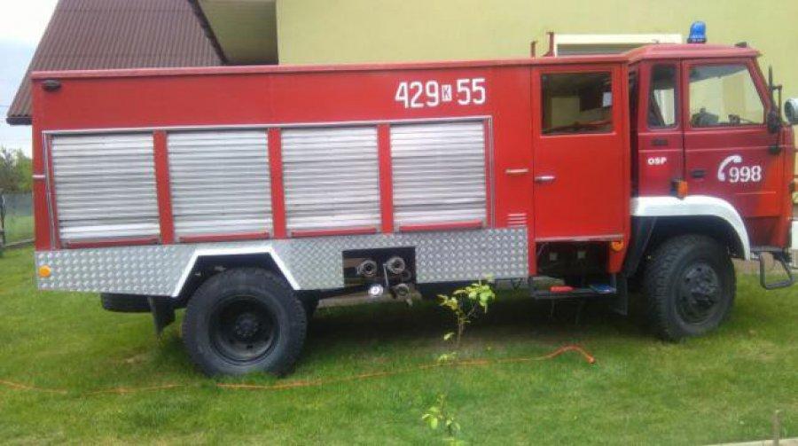 Możesz mieć własny samochód strażacki. Auto czeka na chętnych