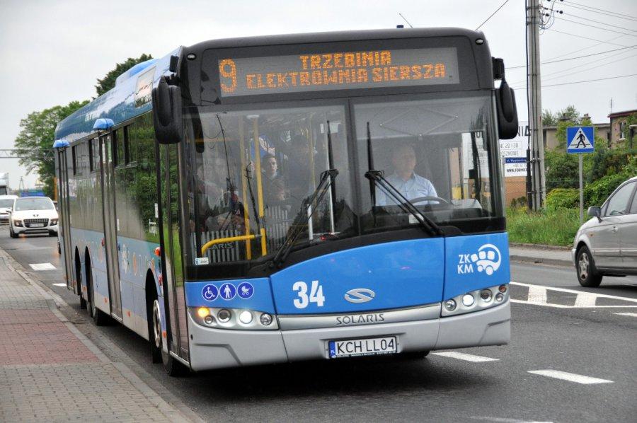W niedzielę tylko specjalne kursy autobusów miejskich