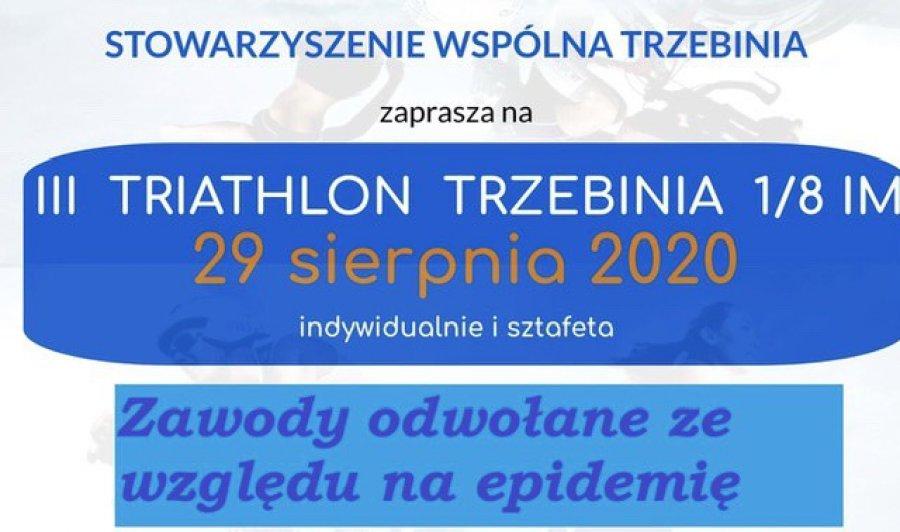 Triathlon odwołany. Trzecia edycja dopiero w przyszłym roku