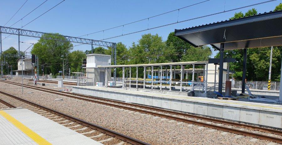 Dwa nowe perony będą czynne od niedzieli