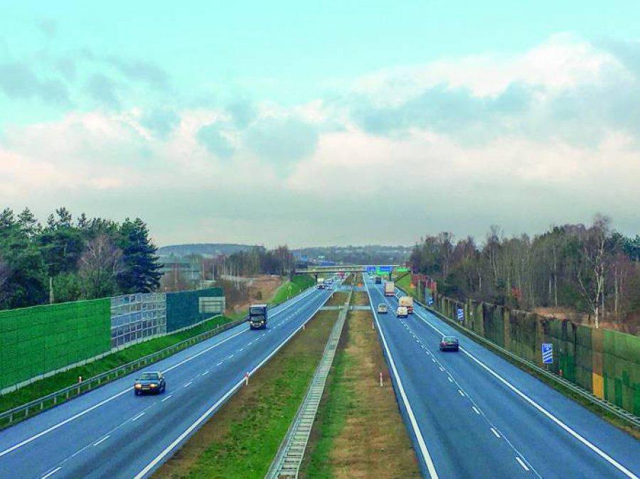 Koronawirus zmniejszył ruch na autostradzie
