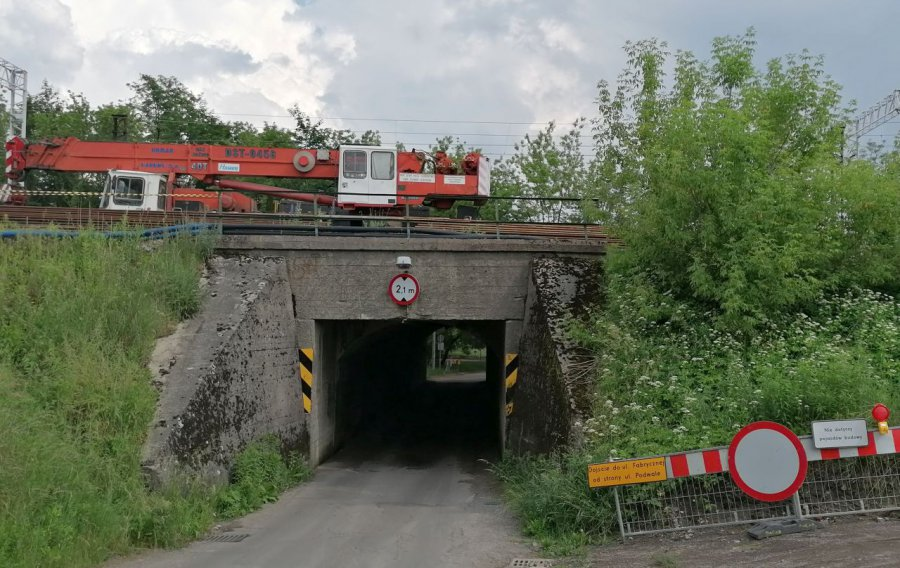 Przebudowa chrzanowskich wiaduktów rozpoczęta. Będą dwa pasy ruchu i chodniki