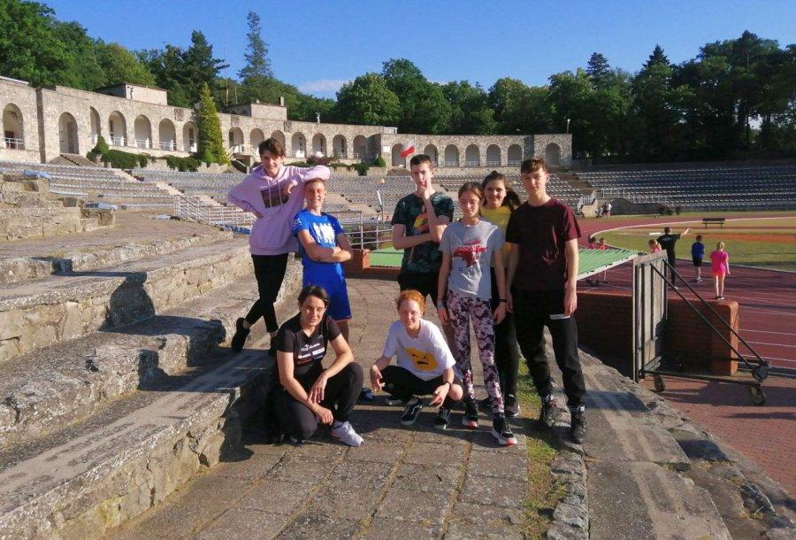 Lekkoatleci z Trzebini w pierwszym starcie z rekordami życiowymi