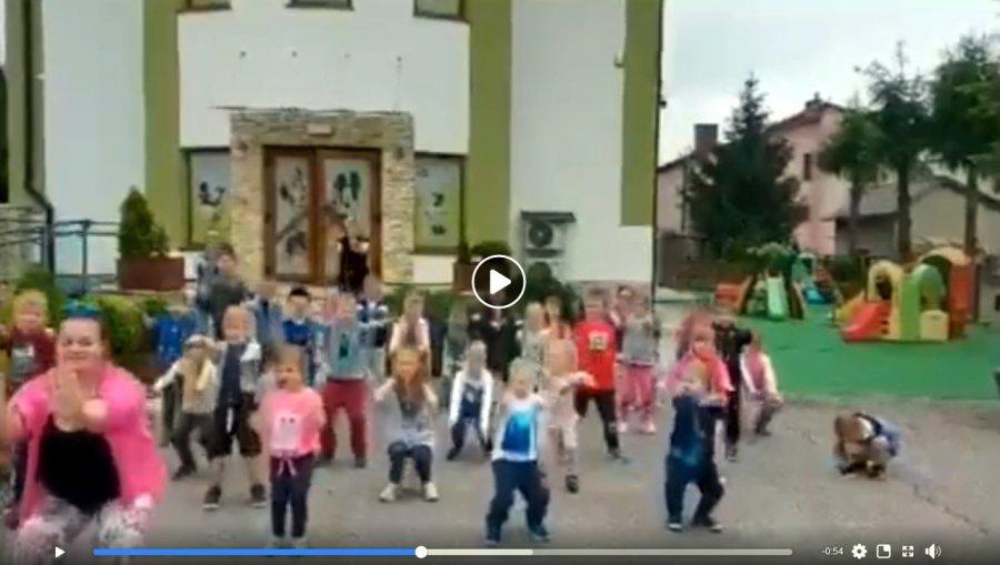GaszynChallenge. Przedszkolaki robią przysiady i nominują burmistrzów (WIDEO)