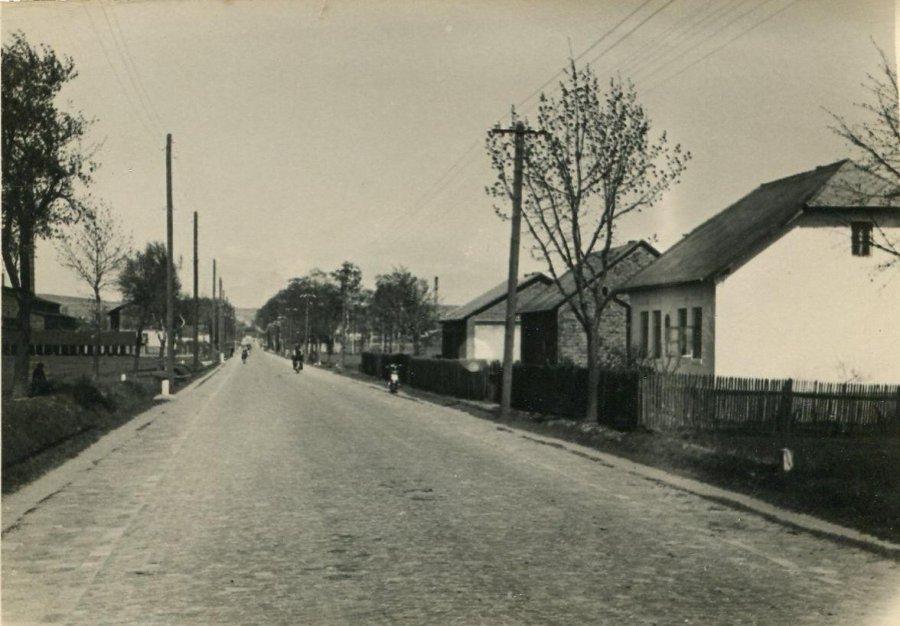 Tak ten fragment miasta wyglądał przeszło 80 lat temu