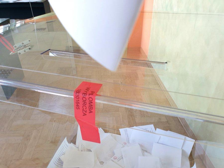 W jednej z komisji w Alwerni zagłosowało 73,4 proc. wyborców