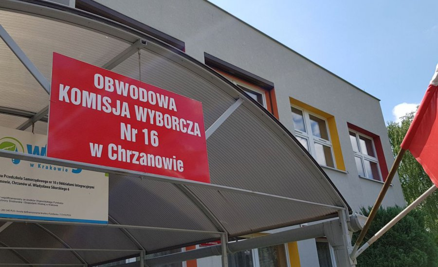 W Chrzanowie zacięta walka dwóch głównych kandydatów w wyborach prezydenckich