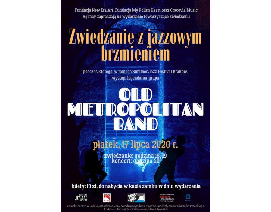 Nocne zwiedzanie i koncert jazzowy na zamku Tenczyn