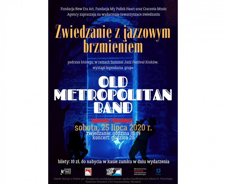 Zmiana terminu koncertu na zamku Tenczyn