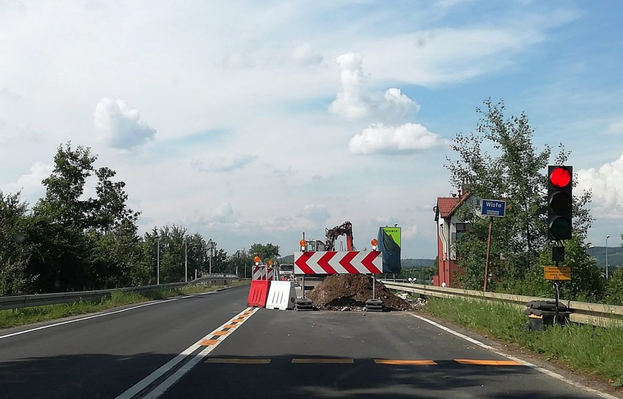 Most na Wiśle będzie czasowo zamknięty