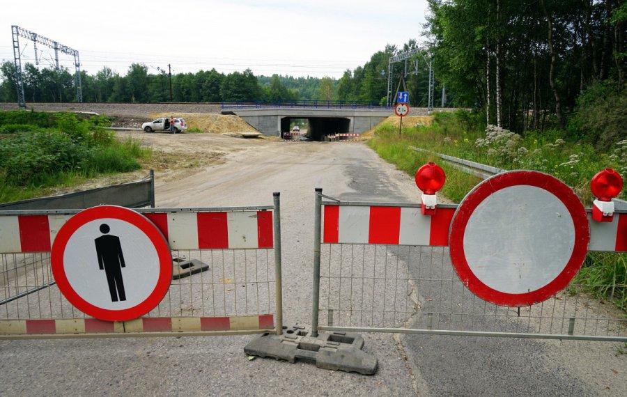 Do kiedy droga pod wiaduktem będzie zamknięta