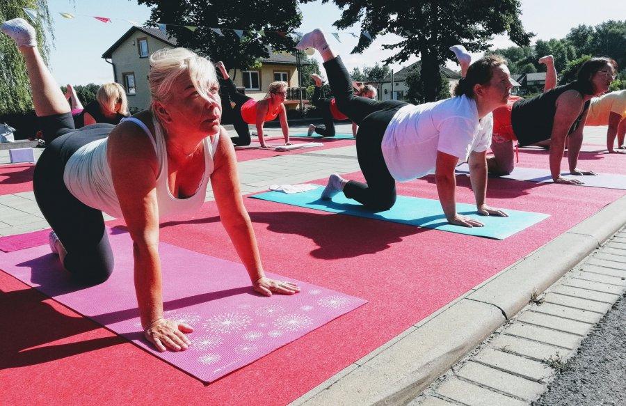 W Libiążu joga na dzień dobry (WIDEO)