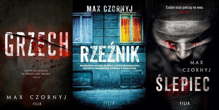 Książki Maxa Czornyja - które warto przeczytać?