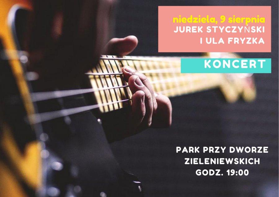 Weekend w Trzebini. Koncert Styczyńskiego i Fryzki
