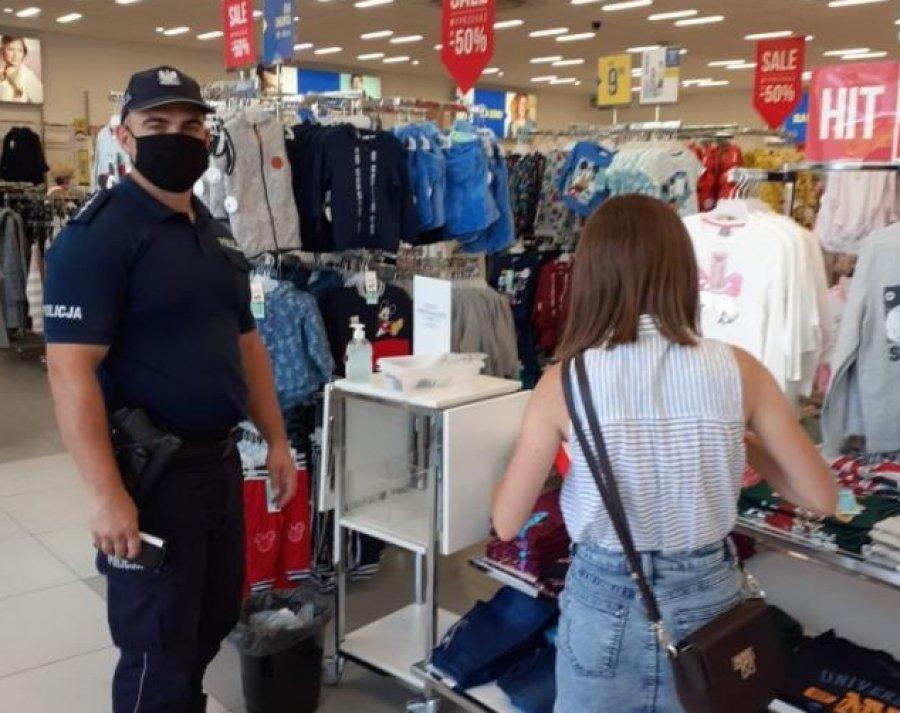 Koronawirus. Policja i sanepid kontrolują sklepy