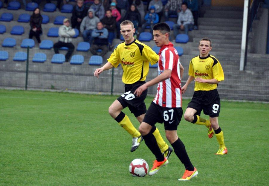 Bartosz Kapustka w Trzebini nie tylko grał na boisku