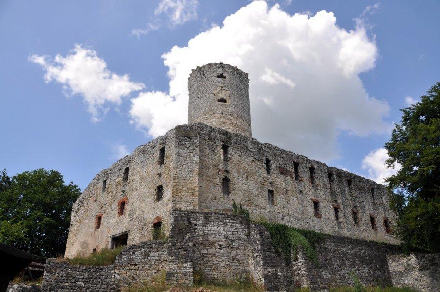 Król obchodził urodziny na zamku Lipowiec