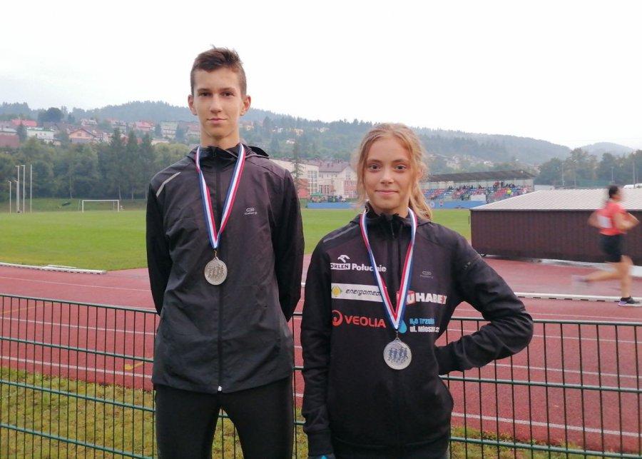 Lekkoatleci z Trzebini wrócili z Podbeskidzia z medalami