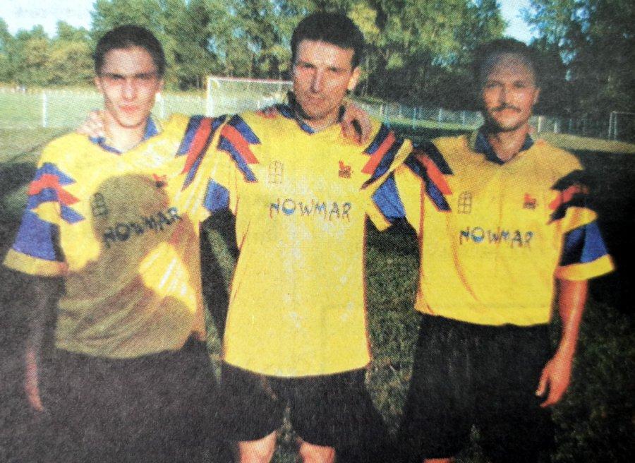 To były pierwsze ligowe mecze w historii klubu z Trzebini