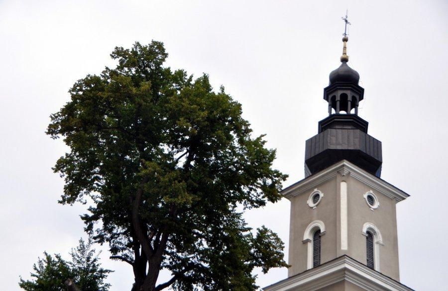 W kościele zostały pamiątki po radzieckiej ofensywie (ZDJĘCIA)